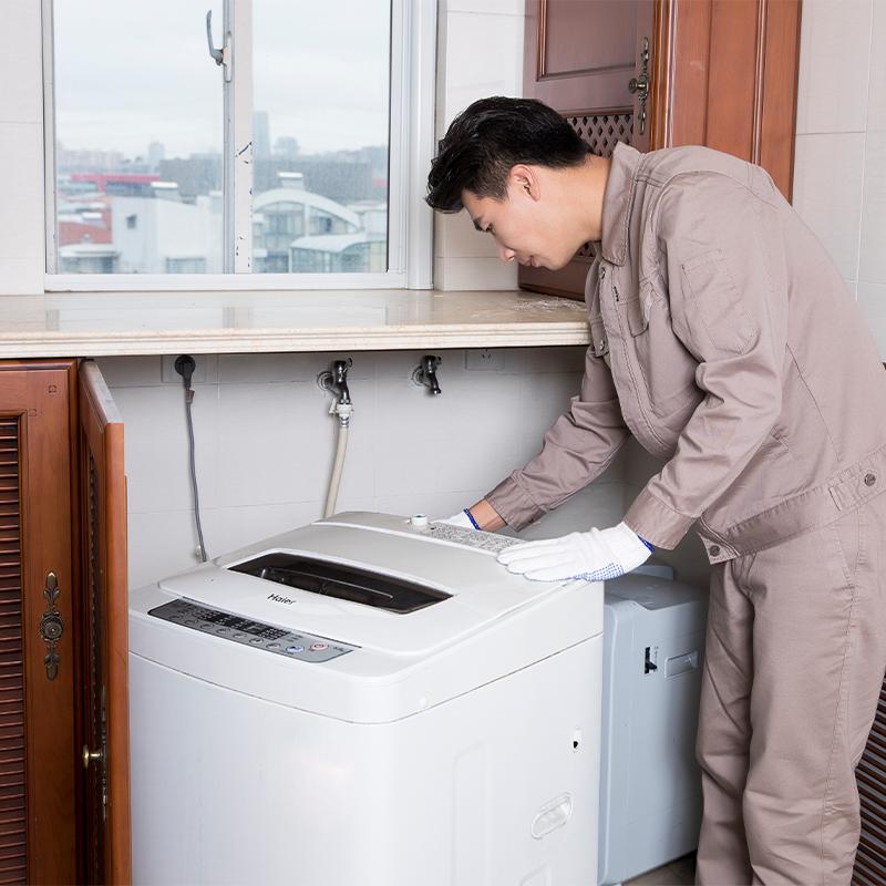 洗衣机安装 上下水安装