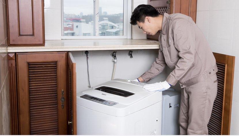 洗衣机安装拆旧